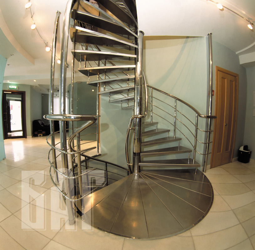 лестницы винтовые для дома фото